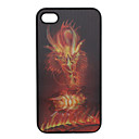 Stereoscopic Colorful Hard Back Case for iPhone 4