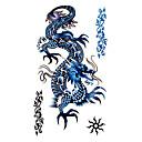 5 Pcs Dragon Waterproof Temporary Tattoo(17.5cm*10cm)