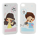 Twin Pack Protective Hard Back Case for iPhone 4 (Calling)