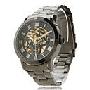 Mechanische Analog  Armbanduhr 9269 für Herren (Schwarz)