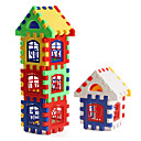 Colorful House Building Blocks