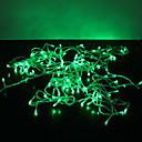 10M 100-LED Green Light 8 Sparking Modes Christmas String Fairy Lamp (220V)