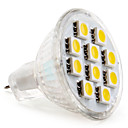 GU4 2 W 10 SMD 5050 120 LM Warm White MR11 Spot Lights DC 12 V
