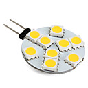 Bi-pin Lights , G4 W 9 SMD 5050 100 LM Warm White V