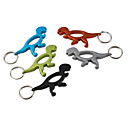 Tyrannosaurus Shaped Bottle Opener Keychain (Random Color)