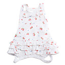 Dog Dresses - XS / S / M / L - Spring/Fall - White Cotton