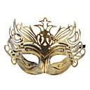 Vintage Crowned Half Masker voor Halloween Masquerade Party