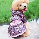 Graceful Rose Style Hoodie Dresses for Dogs (XS-XL)