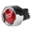 Empuje Red Light Start Interruptor de encendido del Deporte Racing (DC 12V)