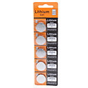 3V CR2032 litium button-batteri (5-pakning)