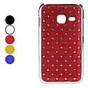 Lattice Pattern Hard Case with Shining Rhinestone for Samsung S6802 (Assorted Colors)