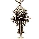 Buy Jewelry Inspired Final Fantasy Cloud Strife Anime/ Video Games Cosplay Accessories Necklace Golden Alloy Male
