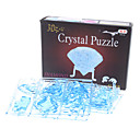 Buy Jigsaw Puzzles 3D / Crystal Puzzle Building Blocks DIY Toys Diamond 4ABS Blue Model & Toy