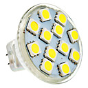 MR11 2W 12x5050SMD 100-150lm 6000-6500K Natural White Light Spot LED Bulb (AC / DC 12 V)