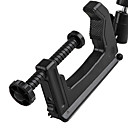 Mini bærbar Clamp Tripod for DSLR kamera videokamera Max 5KG - Sort