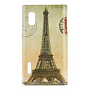Eiffelturm Pattern Hard Case für LG Optimus L5 E612