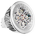 GU5.3(MR16) 4.5 W 4 High Power LED 240 LM Warm White MR16 Spot Lights DC 12 V