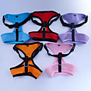 Soft Net Harness for Pets Dogs - 1 PC/PACK(Assorted Colors, No Leash)