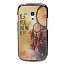 KEEP YOUR DREAMS ALIVE Pattern Hard Case für Samsung Galaxy S3 I8190 mini