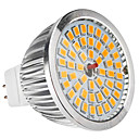 MR16(GU5.3) 6.5W 48x2835SMD 520LM Warm White Light LED Spot Bulb (12V)