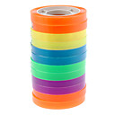 12Pcs Colorful Fluorescent Tape