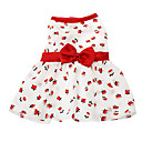 Dog Dresses - XS / S / M / L / XL - Spring/Fall - White - Fashion - Terylene