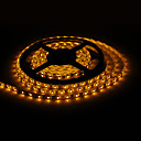 Waterproof 5M 18W 300x3528 SMD Yellow Light LED Strip Lamp (12V, IP44)