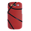Matte Style Basketball Design Durable Hard Case for Samsung Galaxy S3 I9300