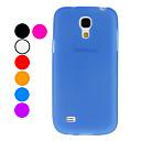 TPU Soft Case for Samsung Galaxy S4 mini I9190 (Assorted Colors)