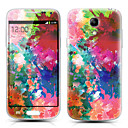 Colorful Camouflage Pattern Front and Back Protector Stickers for Samsung Galaxy S4 mini I9190