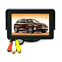 4,3 inch Opvouwbare TFT LCD Camera Achteruitkijkspiegel Car Monitor