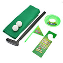 Mini Toy Potty Putter Toalett Golf Set