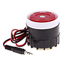 NUEVO cable Mini Sirena para la seguridad casera del sistema de alarma de Hornos Sirena 120dB 12V