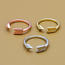 Arrow Open Ring (assorteret farve)