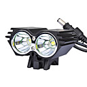 2U2 Bike Light / SolarStorm X2 2xCree XM-L U2 2000 Lumens LED 4 Modes LED Bike/Bicycle Front Light(12-2T64MX2BL)