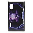 Skallen i Cloak Mönster Plast Material Hard Case för LG E612 (Optimus L5)