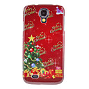 Colorful Christmas Tree Merry Christmas Pattern Protective Hard Back Case Cover for Samsung Galaxy S4 I9500