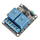 Buy 2 Channel Electric Relay Module Expansion Board Optocoupler