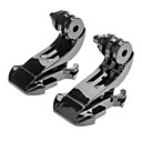2x Sett Liquc Svart Vertical Surface J-krok Buckle Mount For GoPro Hero 2 3