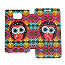 Red Owl PU Leather Case for Samsung Galaxy S2 I9100