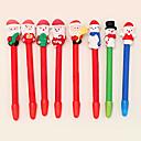 Weihnachten Schneemann Stil Kugelschreiber (zufällige Farbe)