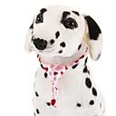 Laço Teste padrão dos corações Loving bonito para animais de estimação cães
