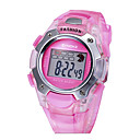 Kinderen SYNOKE LEO Dial Digital pu band Water Resistant Wrist Watch