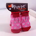 Pet Life Boots Socks with Rubberized Soles for Pets Dogs