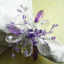 Purple Acrylic Napkin Ring