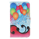 Balloons Painting Pattern Faux Leather with Plastic Hard Back Cover Pouches for Samsung Galaxy S3 I9300