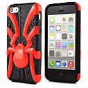 2 in 1 Spider  Robot Style PC and TPU Composite Case for iPhone 5C(Assorted Colors)