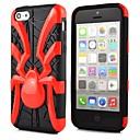 2 en 1 robot d'araignée de style PC et composite Case TPU pour iPhone 5C (couleurs assorties)