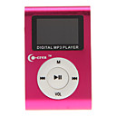 co-crea portatile lettore mp3 digitale di 1.2 pollici con clip in metallo (2gb)