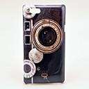 Retro Camera Pattern Hard Case for Sony Xperia Miro ST23i